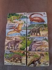 Collectible Stamps Solomon Islands 2006 Complete Set Of 8 Mint Prehistoric...
