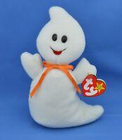 Spooky TY Beanie Baby Ghost 4th PVC Error MWMT Halloween 10 31 1995 Style 4090