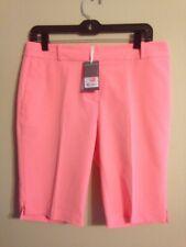 NWT Fairway & Greene Women's Macie Golf Short Papaya size 8 10 12 E12183 NEW