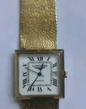 Longines Quartz (Battery) Gold Plated Strap Wristwatches