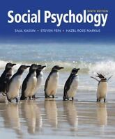 Social Psychology 9th Edition by Saul Kassin  (Hardcover)