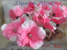 Sweet Pink Hibiscus Sa Paper Party-Wedding-Decoration X-mas 110V Light String