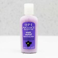 OPI Avojuice VIOLET ORCHID Skin Quenchers Hand & Body Mini Lotion 30 mL 1 oz