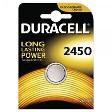 2x CR2450 Lithium Knopfzelle 3V DL2450 DURACELL