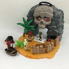 Playmobil pirates Playset 5804 Skull Island Carry Case