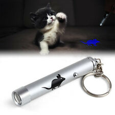 Cat Interactive led Training Funny Play Toy Laser Pointer Pen Mouse Animation