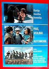 CAR VIOLIN AND DOG 1975 AVTOMOBIL,SKRIPKA I SOBAKA ROLAN BYKOV EXYU MOVIE POSTER