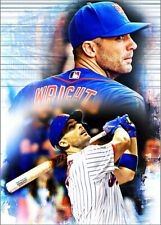 2020 David Wright New York Mets 4/10 Art ACEO Limited Sketch Print Card By:Q
