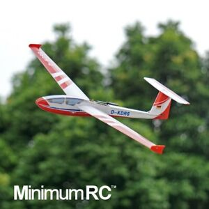 MinimumRC ASG-32 Glider Classical RC airplane Kit / Kit with servos / Full set