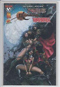 Witchblade Magdalena Vampirella Convergence #1 (DF Dynamic Forces variant COA)
