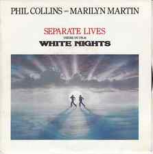 45 T SP PHIL COLLINS & MARILYN MARTIN *SEPARATE LIVES*