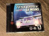 Test Drive Le Mans Sega Dreamcast Complete CIB Authentic