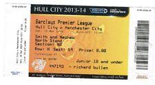 Billete-Hull City v Manchester City 15.03.14