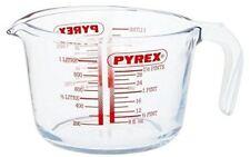 Pyrex Measuring Jug 1L Baking Cooking Prepare Kitchen Pint Glass Flour Sugar