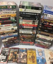Lot of 56 FACTORY SEALED VHS Movies - Sports & Music - Classics - Documentaries
