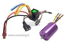 H0026-H0028  Combo Motore brushless 3000kv e Regolatore brushless 45A 1/10 VRX