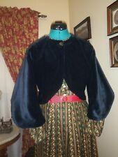 New Heavy Weight Black Cotton Velvet Zouave Jackets Bust 38