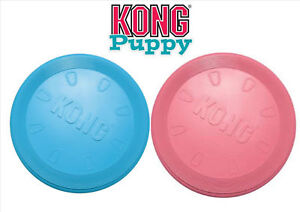Kong Puppy Flyer 7inch wide color vary   Free Shipping