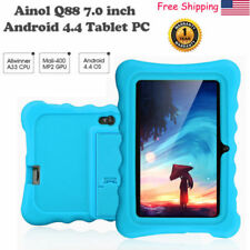 "7"" HD 8GB Android4.4 Dual Camera 3G WIFI Tablet PC TF 64GB For Kids Bundled Case"