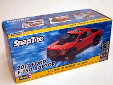 Revell 1/25  2017 Ford F-150 Raptor  Plastic Model Kit 85-1985 Snap RED