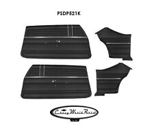 1968 68 Chevelle Malibu Preassembled Door Panel Kit Front and Rear
