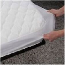 New WATERPROOF SINGLE BED MATTRESS PROTECTOR COVER SHEET BED WETTING SOFT VINYL