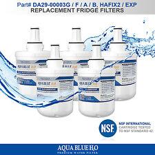 5x SAMSUNG DA29-00003F,G,A,B FRIDGE WATER FILTER