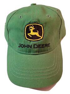 John Deere Toddler Size Baseball Cap/Hat Green NWT