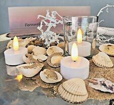LED Teelichter Batterie mt Timer 3D Flamme wie echt elektrische Teelicht Kerze