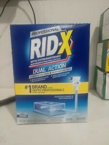 12 boxes of  Rid X Ridx Septic System Treatment 19.6 oz per box