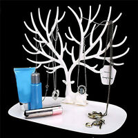 Jewelry Deer Tree Stand Display Organizer Necklace Ring Earring Holder Useful WR