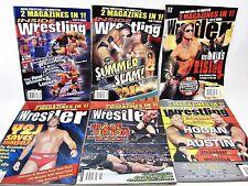 6 Lot Wrestler Magazine 2009 Y2J DiBiase Missy Hyatt Stan Hansen Davey Boy Smith