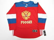 TEAM RUSSIA RED 2016 WORLD CUP OF HOCKEY ADIDAS PREMIER HOCKEY JERSEY