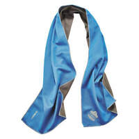 CHILL-ITS BY ERGODYNE 6602MF Evaporative Cooling Towel, Blue