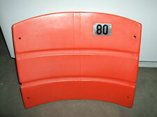 Candlestick Park Stadium seat back #80 Jerry Rice  San Francisco 49ers NFL