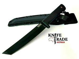 Cold Steel Recon Tanto Knife 49LRT + Secure Ex Sheath Japanese SK-5 Blade Bush