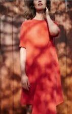 "AS NEW- JIGSAW ""ASYMMETRIC CORAL DRESS"" SIZE 10  (#J1252)"