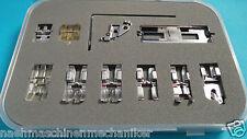 11 piezas de füßchenset para Pfaff y gritzner las máquinas de coser con sistema de IDT