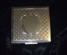 TI-005 - ELGIN AMERICAN STERLING SILVER LADY'S COMPACT Vintage 1930's to 50's