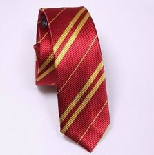 NUOVO Rosso & Giallo Cravatta HARRY POTTER GRIFONDORO Hogwarts UK Harry Potter Hermione