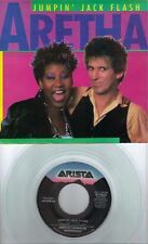 KEITH RICHARDS ARETHA FRANKLIN rare clear vinyl 45 with PicSleeve ROLLING STONES