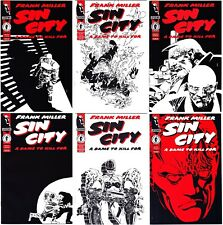 Sin City: A Dame To Kill For #1-6 Complete Dark Horse Frank Miller Nm 9.4+ est.