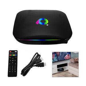 2020 Q Plus QBOX Q+ 2+16GB/4+32GB Amlogic Android 9.0 WIFI Smart Media TV BOX UK