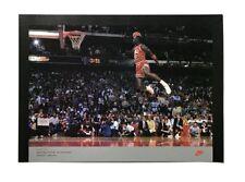 Michael Jordan Nike 16x20 Poster 1988 Slam Dunk Champ Nba Mvp #23 Chicago Bulls
