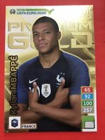 Adrenalyn Road To Euro 2020 Kylian Mbappè Premium Gold Lim Edition