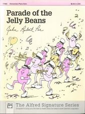 Parade Of The Jelly Beans Elementary Piano Solo Sheet Music 1997 Poe