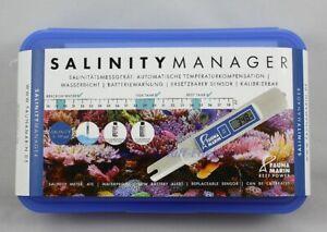 Salinity Manager Fauna Marin Dichtemsser Saltwater Salinitätsmessgerät