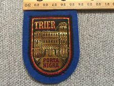Vintage Trier Porta Nigra Travel Patch