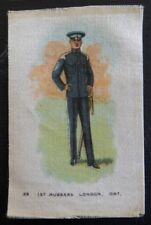 1st HUSSARS LONDON ONTARIO Silk issued 1914 Regimental Uniforms of Canada