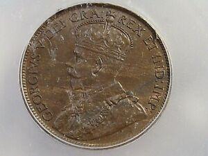 BU 1919 Large Cent CANADA ICG MS64 BN. #8
